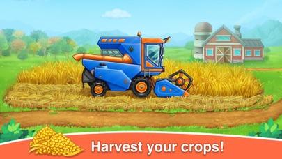 ファームゲームトラクターの収穫紹介画像4