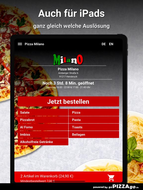 Pizza Milano Hersbruck screenshot 7