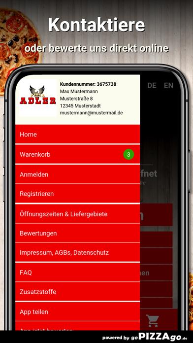 Pizza-Adler Gottmadingen screenshot 3