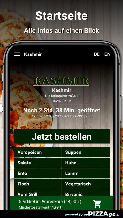 Kashmir Berlin screenshot 3