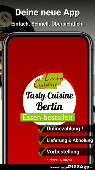 Tasty Cuisine Berlin screenshot 1