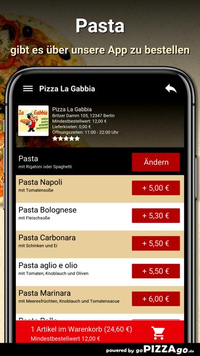 Pizza La Gabbia Berlin screenshot 6