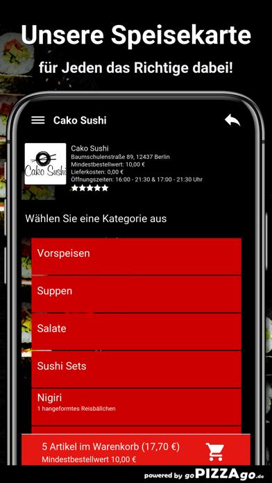 Cako Sushi Berlin screenshot 4
