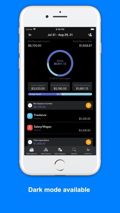 iSaveMoneyGo: Spending tracker