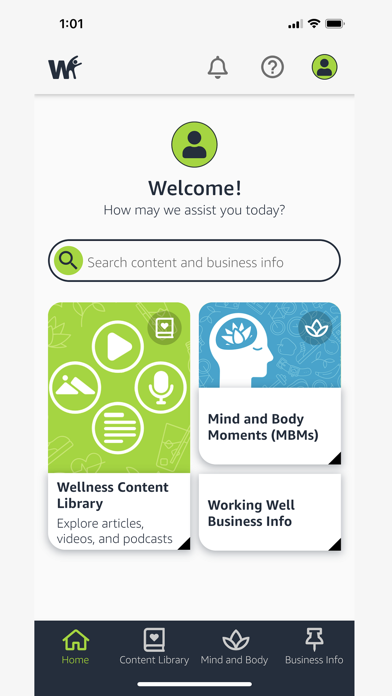 Amazon WorkingWell screenshot 2