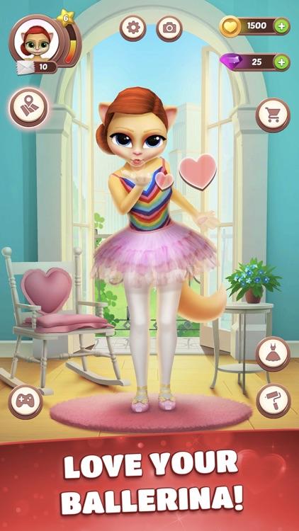 Talking Cat Emma Ballerina screenshot-5