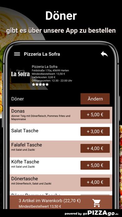 Pizza-Florenz Kassel screenshot 6