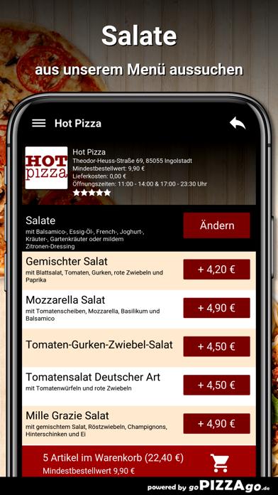 Hot Pizza Ingolstadt screenshot 5