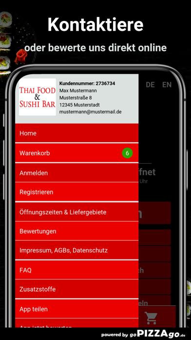 Thaifood & Sushi Bar Berlin screenshot 3