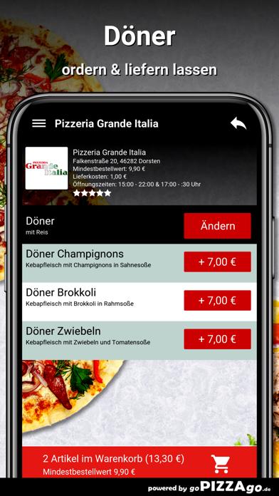 Pizzeria Grande Italia Dorsten screenshot 6