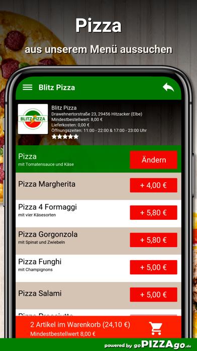 Blitz Pizza Hitzacker (Elbe) screenshot 5