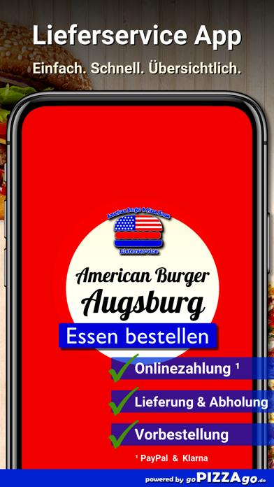 American Burger Augsburg screenshot 1