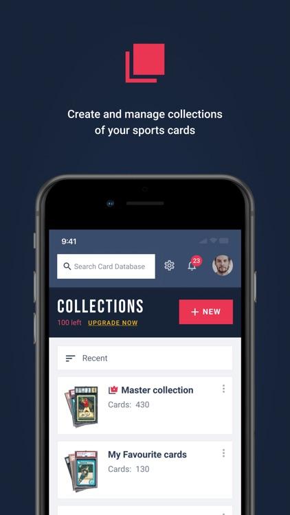 Sports Card Scanner screenshot-4