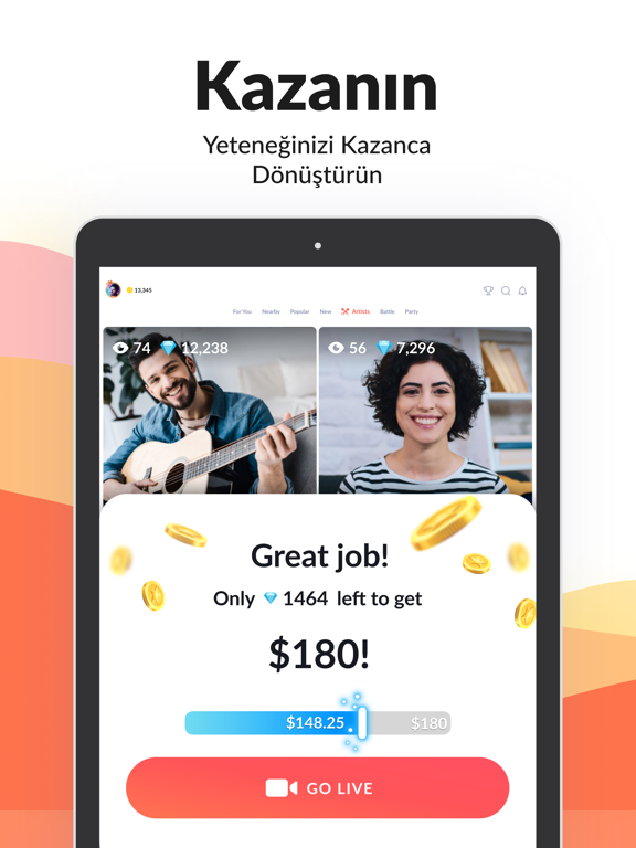 Tango - Video Canlı Yayın İzle ipad ekran görüntüleri