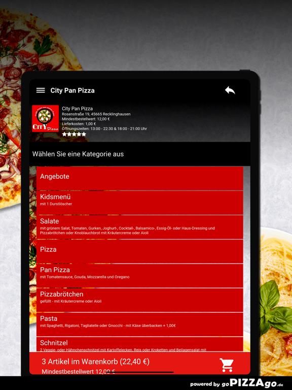 City Pan Pizza Recklinghausen screenshot 8
