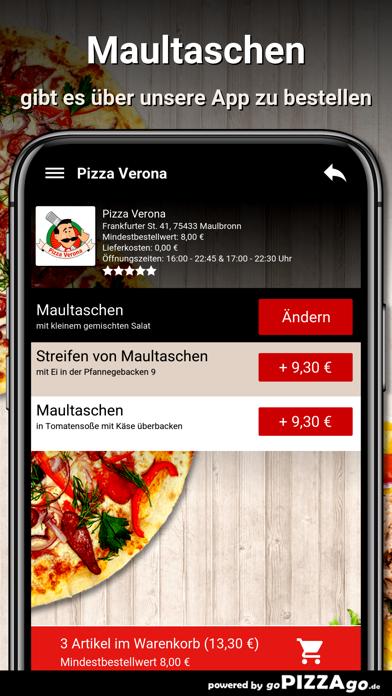 Pizza Verona Maulbronn screenshot 6