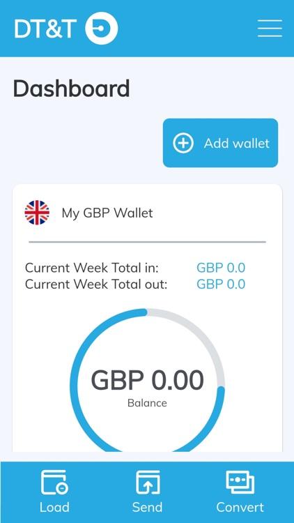 DT & T Money Transfer screenshot-3