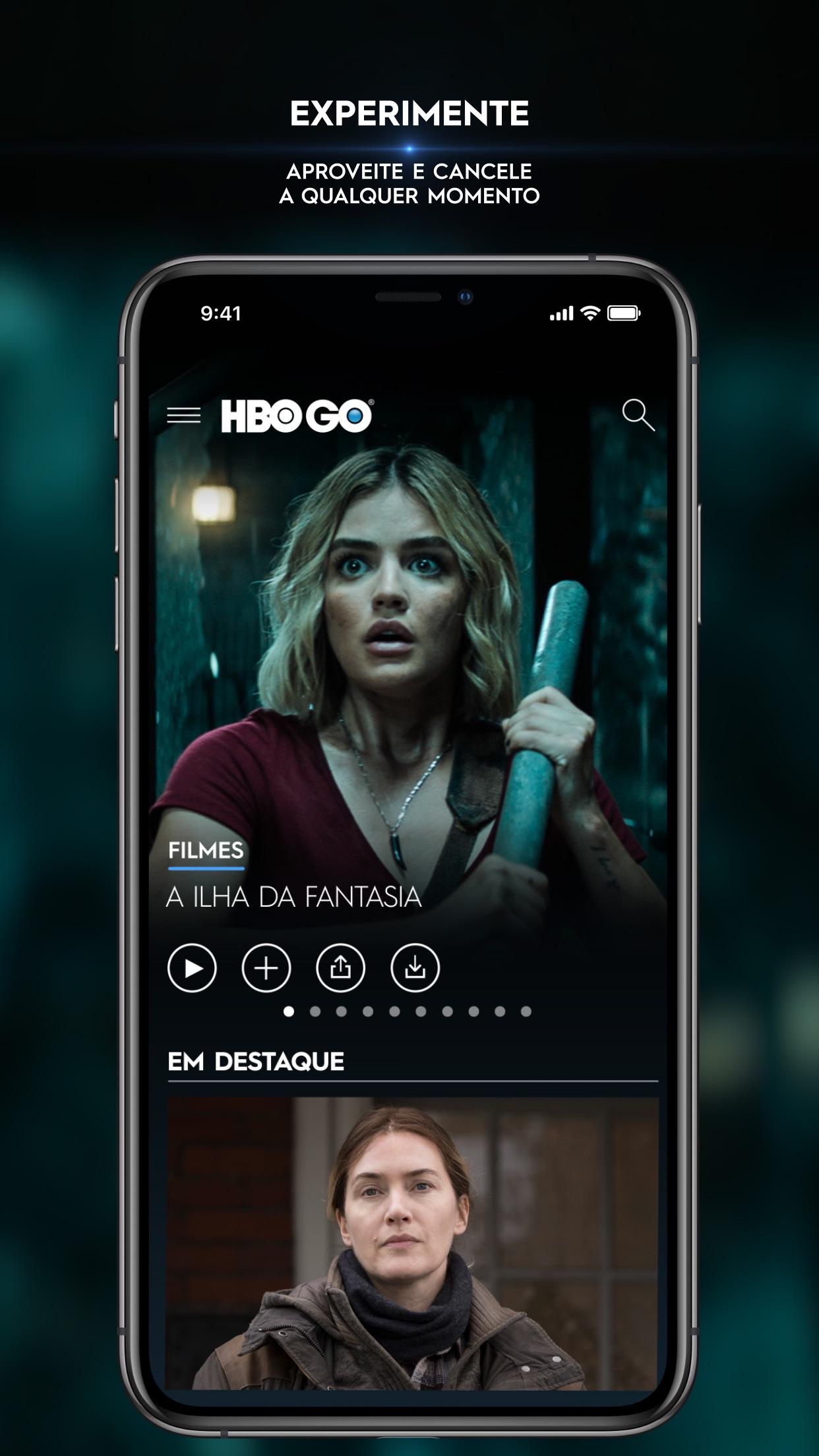 Screenshot do app HBO GO ® - Filmes e séries
