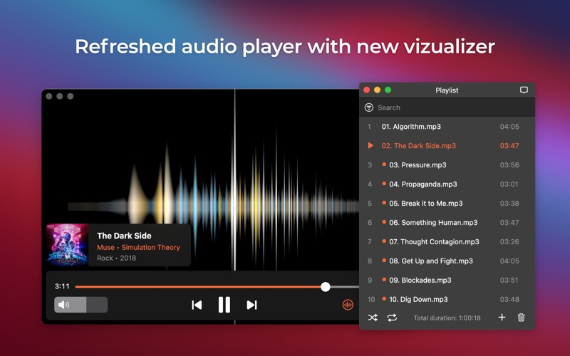 Elmedia:universal video player Screenshots