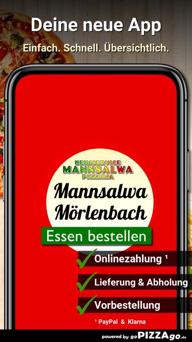 Pizzeria Mannsalwa Mörlenbach screenshot 1