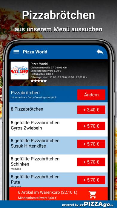 Pizza World Kiel screenshot 5