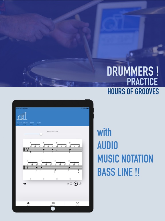 pttrn for drummers