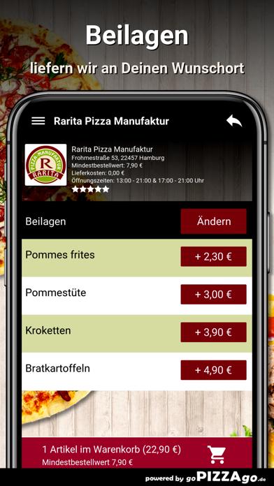 Rarita Pizza Hamburg screenshot 6