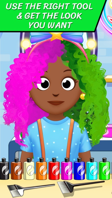 Hair Salon Hairstylist game screenshot 4