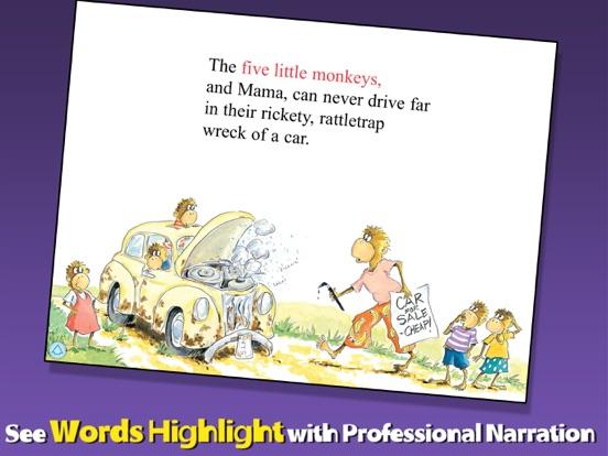 5 Little Monkeys Wash the Carのおすすめ画像2