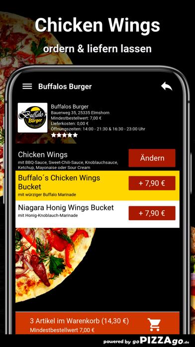 Buffalos Burger Elmshorn screenshot 6