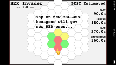 Hexagon Invader screenshot 10