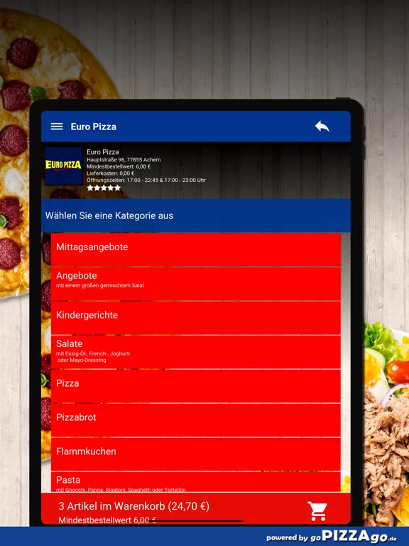 Euro Pizza Achern screenshot 8
