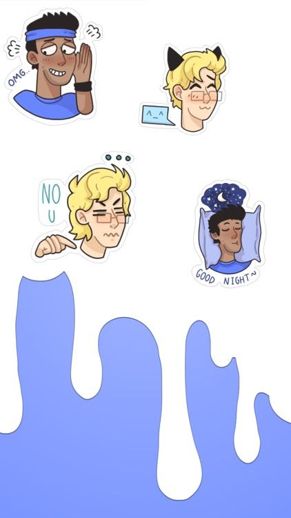 Gay lgbt stickers (Notabu)
