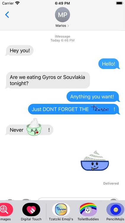 Tzatziki Emoji's