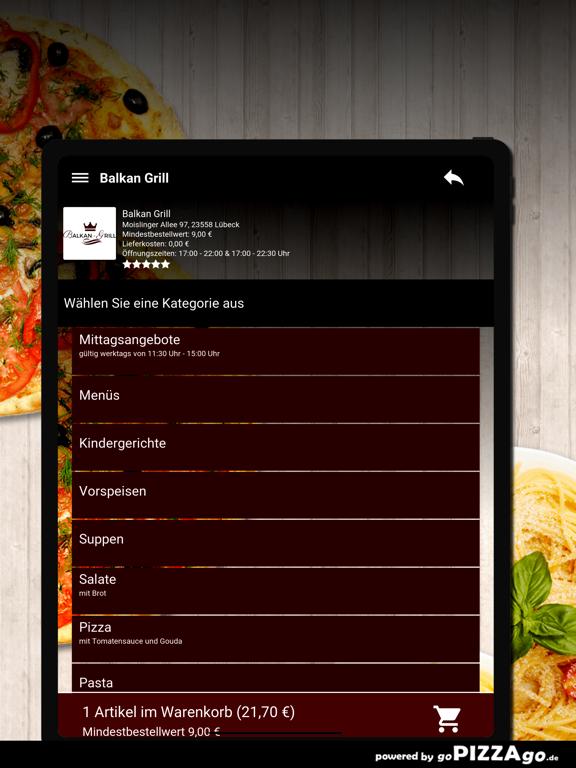 Balkan-Grill Lübeck screenshot 8