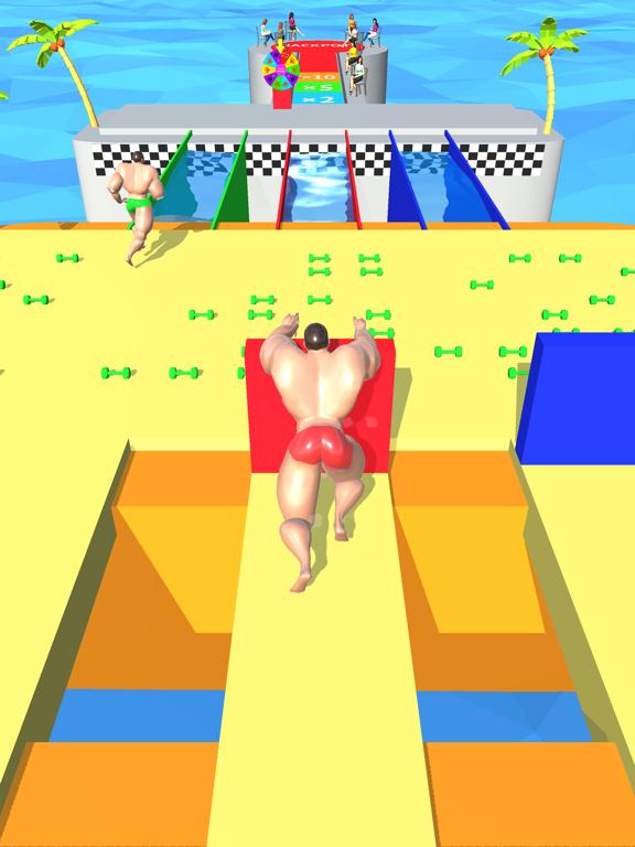 ひまつぶしげーむ-マッチョレースのおすすめ画像2