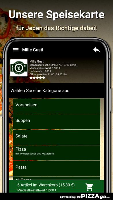 Mille Gusti Berlin screenshot 4