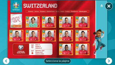 Álbum Cromos Panini EURO 2020Captura de pantalla de2