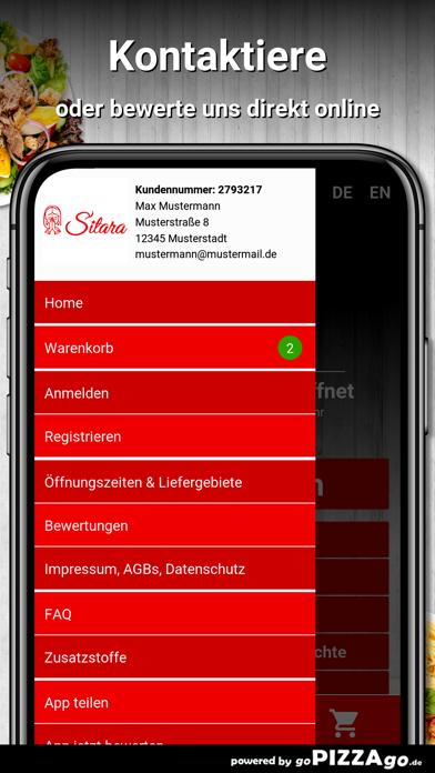 Sitara Pizza Service Gera screenshot 3