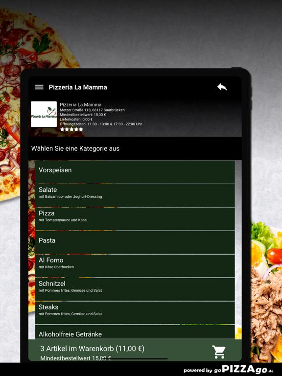 Pizzeria-La Mamma Saarbrücken screenshot 8