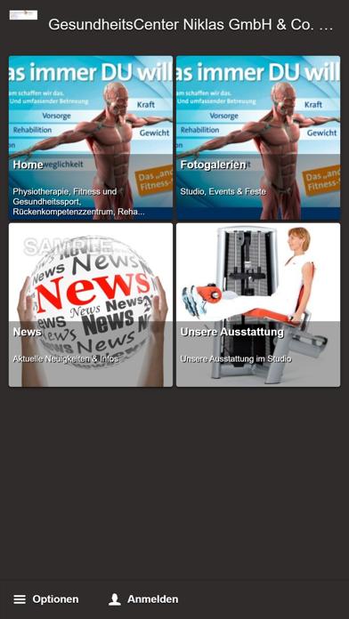 GesundheitsCenter Niklas 24Screenshot von 1