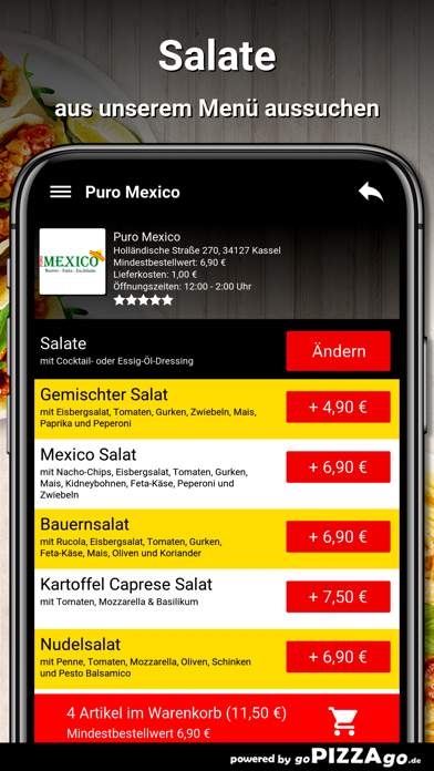 Puro Mexico Kassel screenshot 5