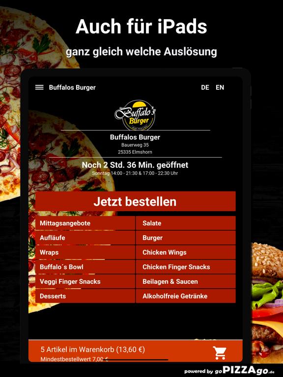 Buffalos Burger Elmshorn screenshot 7