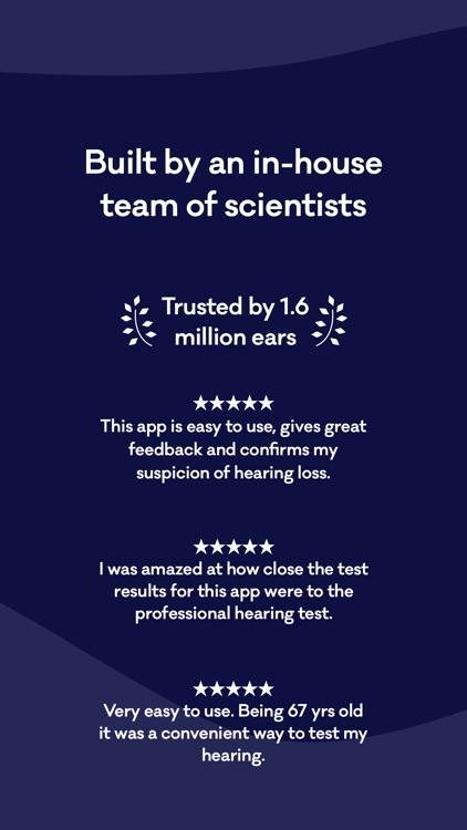 Mimi Hearing Test screenshot-5