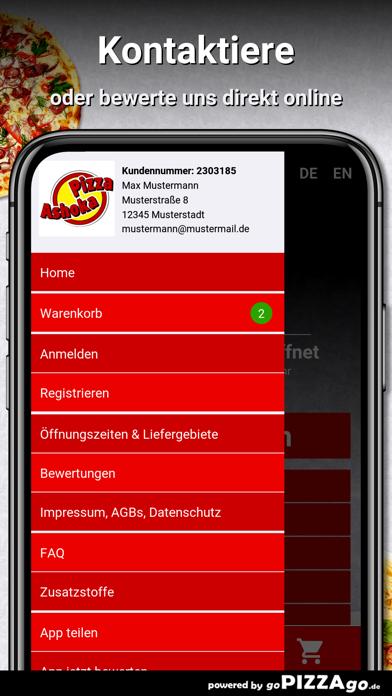 Pizza Ashoka Königsbrunn screenshot 3