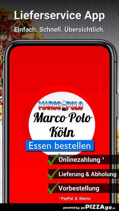 Pizza Taxi Marco Polo Köln screenshot 1