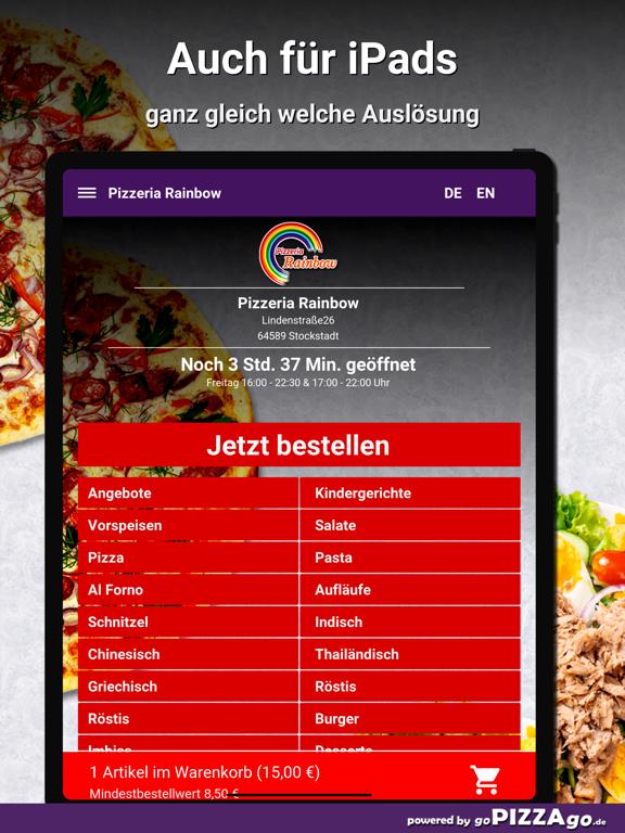 Pizzeria Rainbow Stockstadt screenshot 7