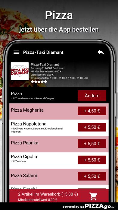 Pizza-Taxi Diamant Dortmund screenshot 5