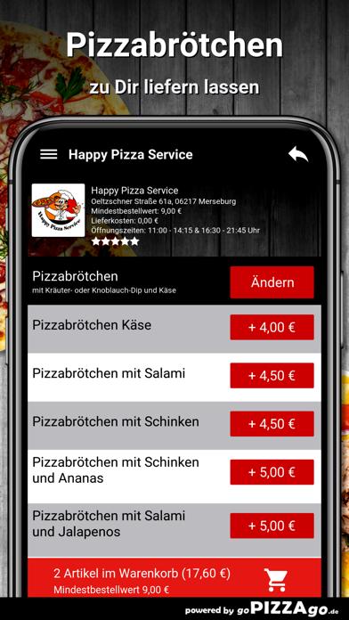 Happy Pizza Service Merseburg screenshot 5