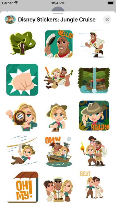 Jungle Cruise Stickers screenshot 2